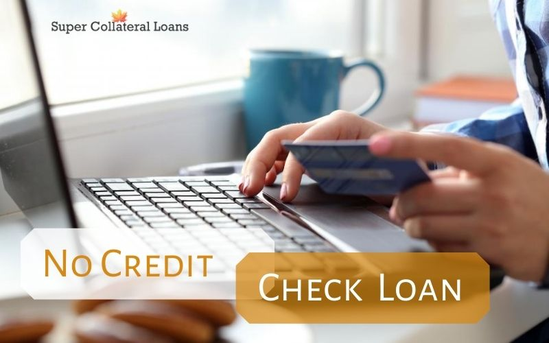 No Credit Check Auto Loan